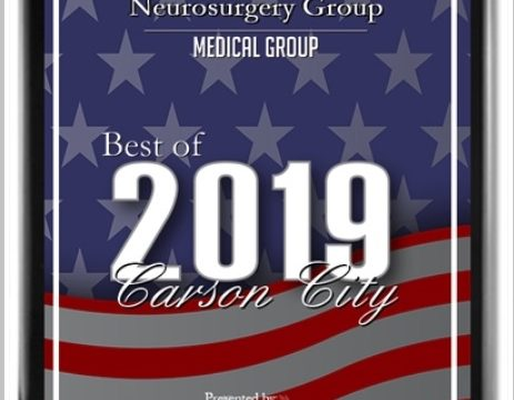Oct 2019: Best of Carson City 2019 Award