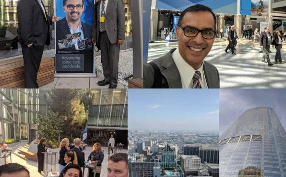 Sep 2018: North American Spine Society Meeting and AO Spine North America Reception, Los Angeles CA