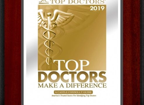 March 2019: Top Doctors 2019 Award