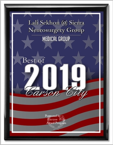Oct 2019 Best Of Carson City 2019 Award Nevada Neurosurgery Spine And Pain Care At Roc Use resolution of original template image, do not resize. oct 2019 best of carson city 2019